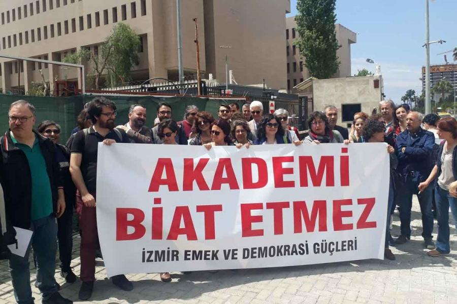 Dr Anıl Özgüç, included among the '1071' signatories without her permission, resigned from her university post