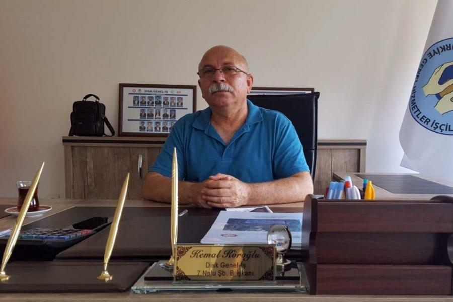 Chair of İzmir Branch No 7 of Genel-İş Trade Union, Kemal Köroğlu: There's a need for class trade unionism