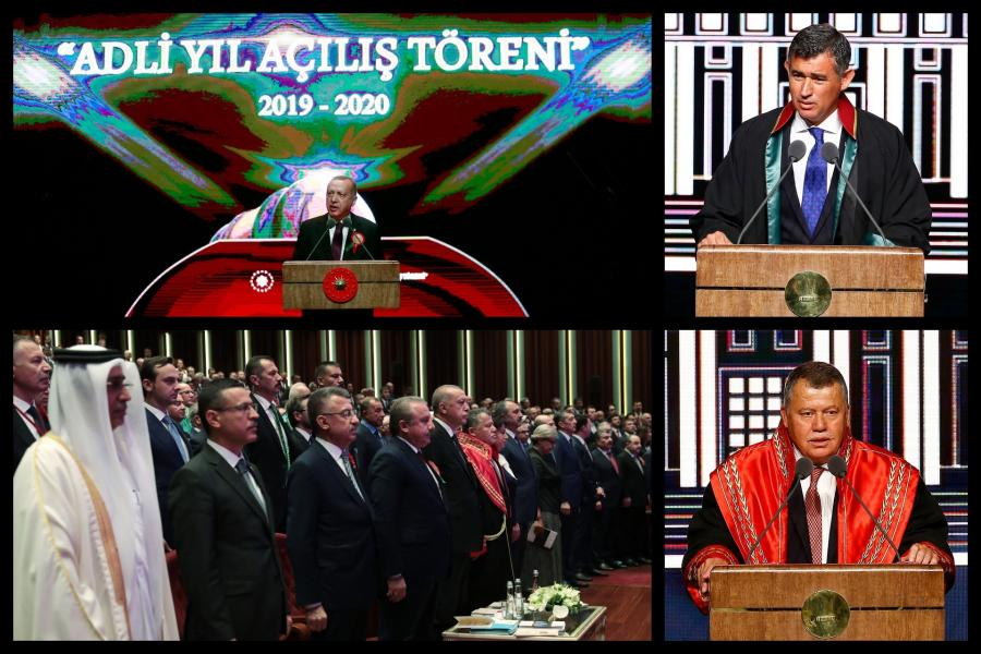 Judicial year opening ceremony | Erdoğan accuses palace-avoiding bar associations of provocation