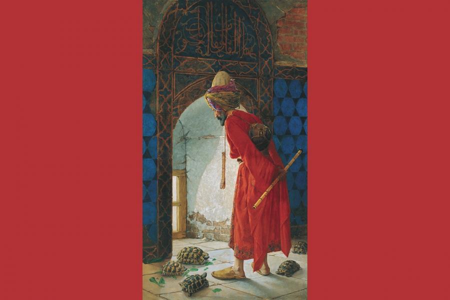 Deciphering artist Osman Hamdi Bey
