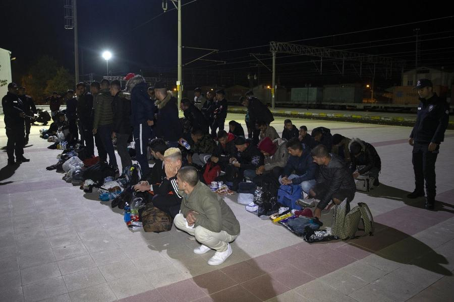 Returning refugees are called 'volunteers' but forced back to war zone in Syria