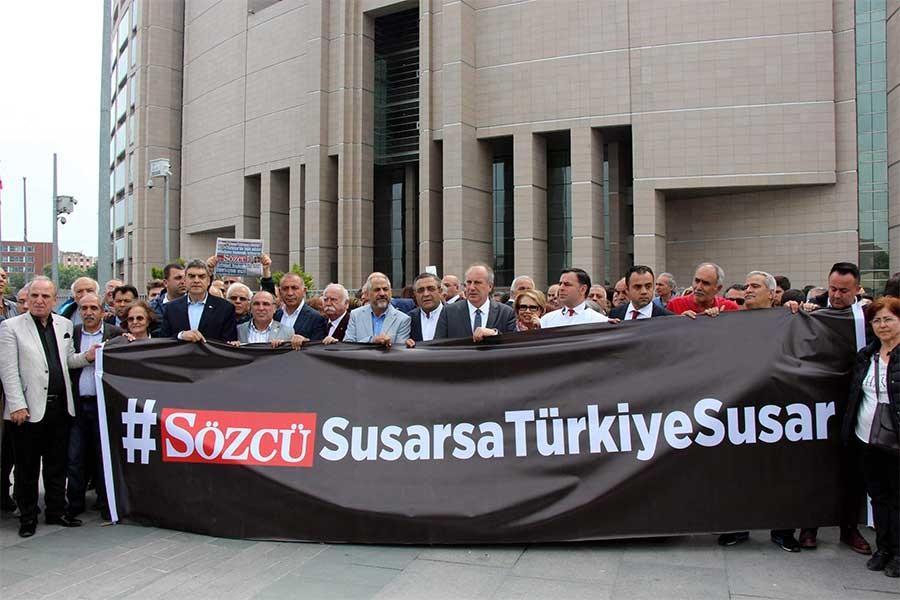 Sözcü daily employees Mediha Olgun and Gökmen Uluarrested