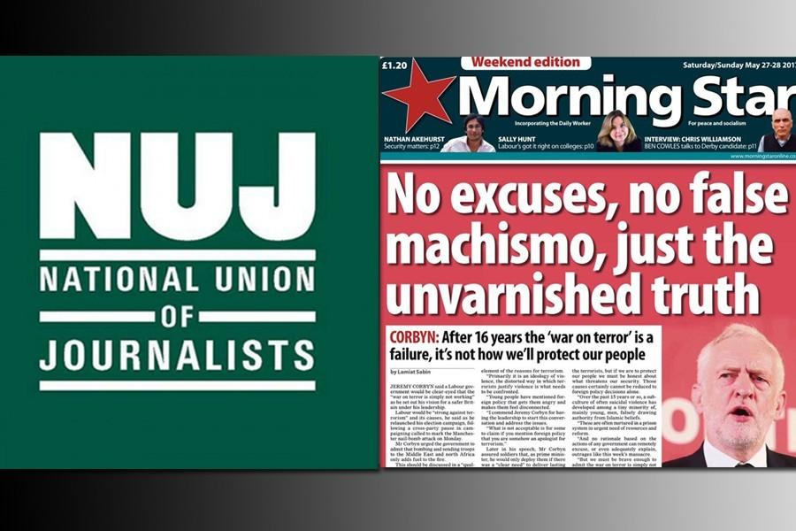 Morning Star NUJ Chapel to start a solidarity campaign with Evrensel
