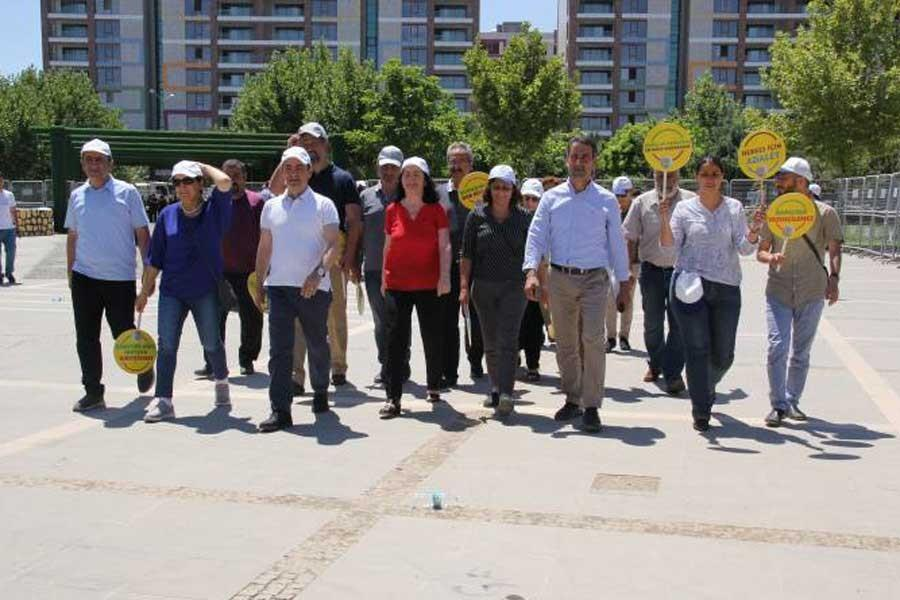 HDP is expecting 'Those with an objection' at the 'Resistance Vigil'