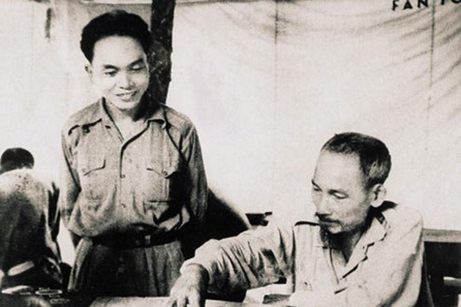 Ho Çi Min ve Vo Nguyen Giap