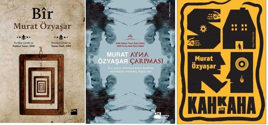 Murat Özyaşar'ın yayınlanmış kitapları