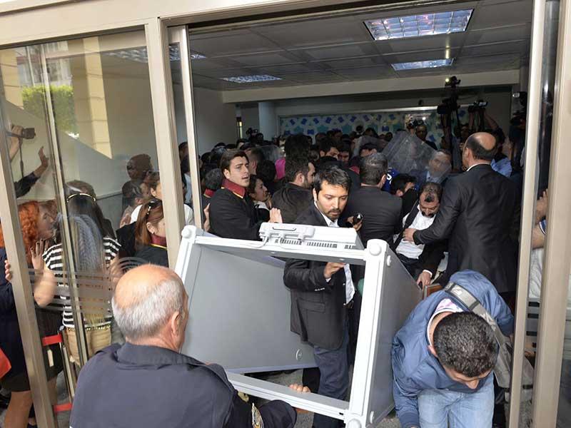 Adana Adliyesi Avukatlar üst aramasını reddetti (Fotoğraf: DHA)