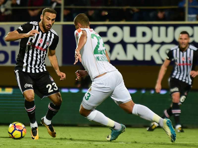 Alanyaspor 1-2 Beşiktaş (Fotoğraf: DHA)