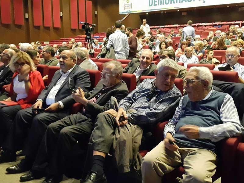 Demokrasi İçin Birlik (DİB) forumu (Fotoğraf: EVRENSEL)