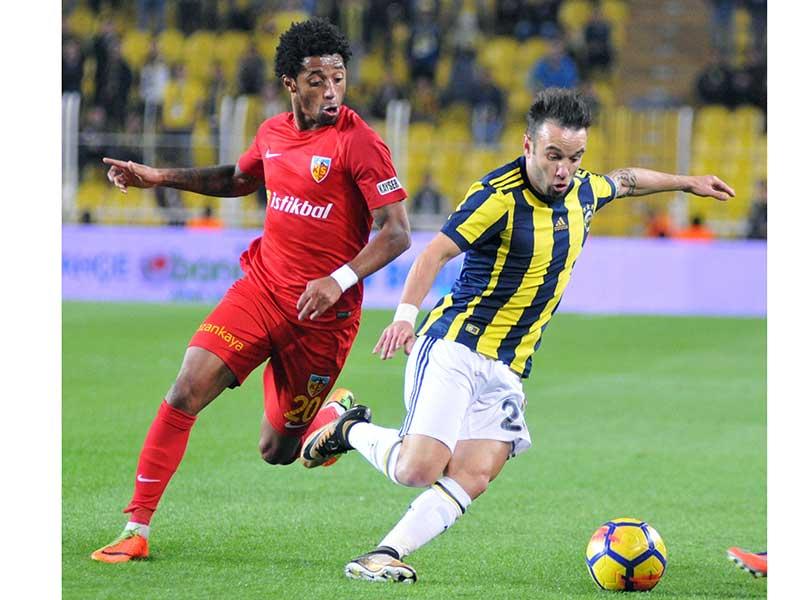 Fenerbahçe 3 - 3 Kayserispor (Fotoğraf: DHA)