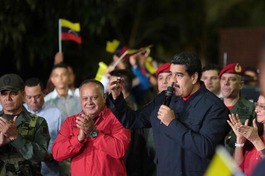 Venezuele Devlet Başkanı Nicolas Maduro