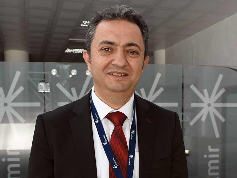 TMMOB Maden Mühendisleri Odası Yönetim Kurulu Başkanı Ayhan Yüksel (Fotoğraf: DHA)