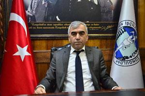 Genel Maden İşçileri Sendikası (GMİS) Genel Başkanı Ahmet Demirci