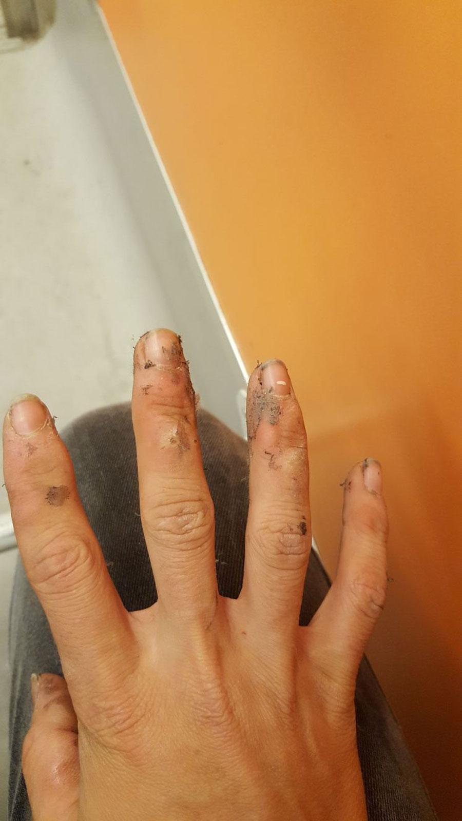 çocuk işçi eli