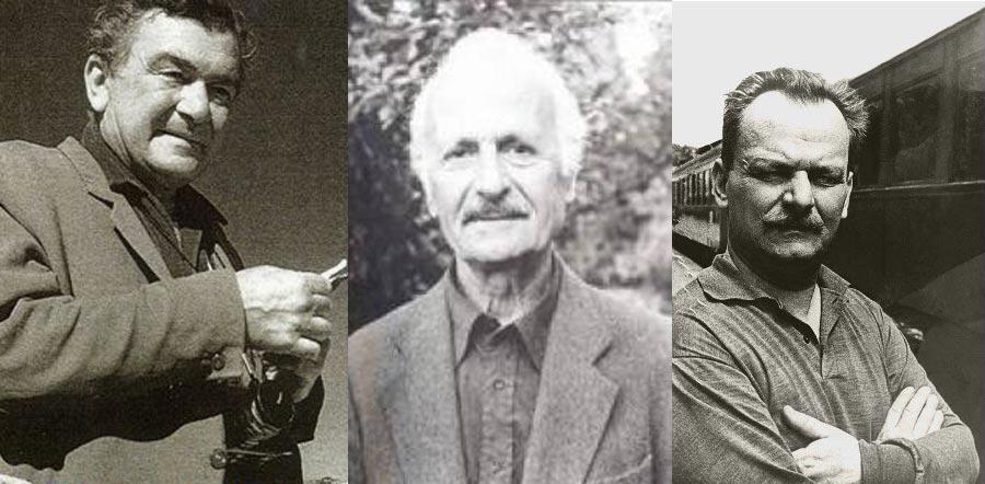Sabahattin Eyuboğlu, Vedat Günyol ve Melih Cevdet Anday