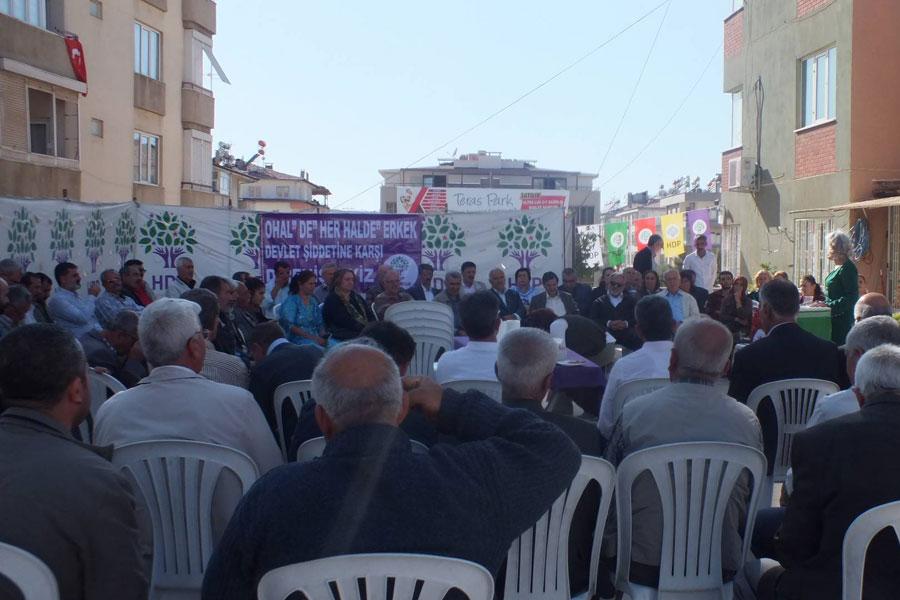HDP Antep İl Örgütü partilerinin 5. kuruluş yıl dönümünü şenlikle kutladı (Fotoğraf: MA)
