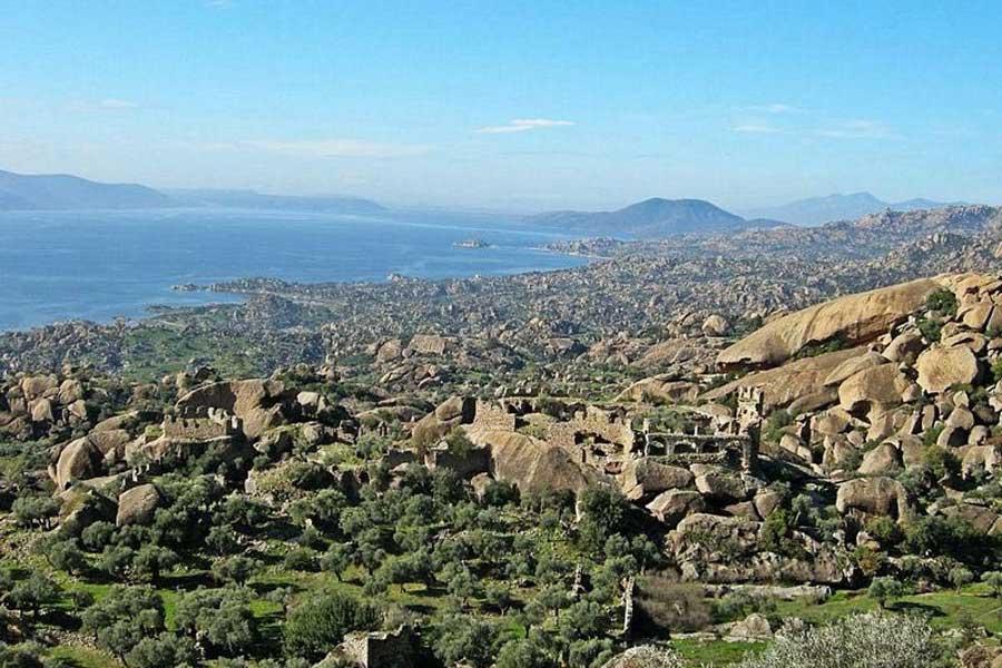 Beşparmak Dağı (Latmos) (DHA)