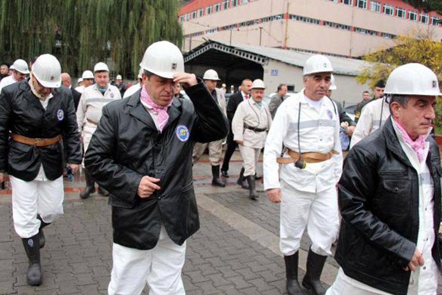 devlet erkanından maden ziyareti