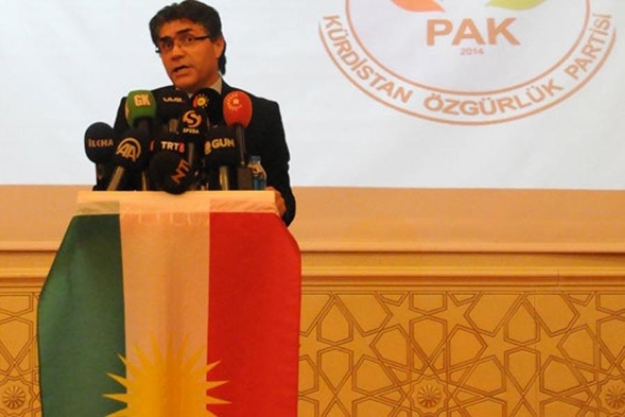 Kürdistan Özgürlük Partisi (PAK) Genel Başkanı Mustafa Özçelik