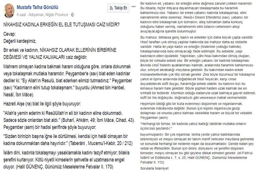 Adıyaman Üniversitesi Rektörü Prof. Dr. Mustafa Talha Gönüllü'nün paylaşımı