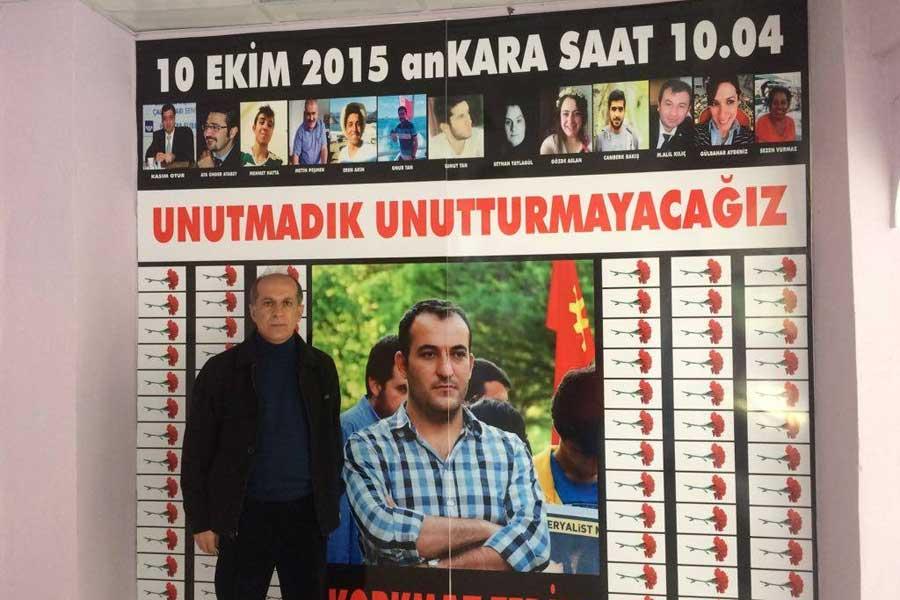PSAKD Ören Şubesi Başkanı Mazlum Köse (Fotoğraf: MA)