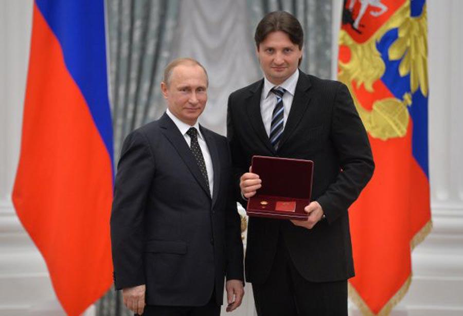 Putin ve Edgard Zapashny