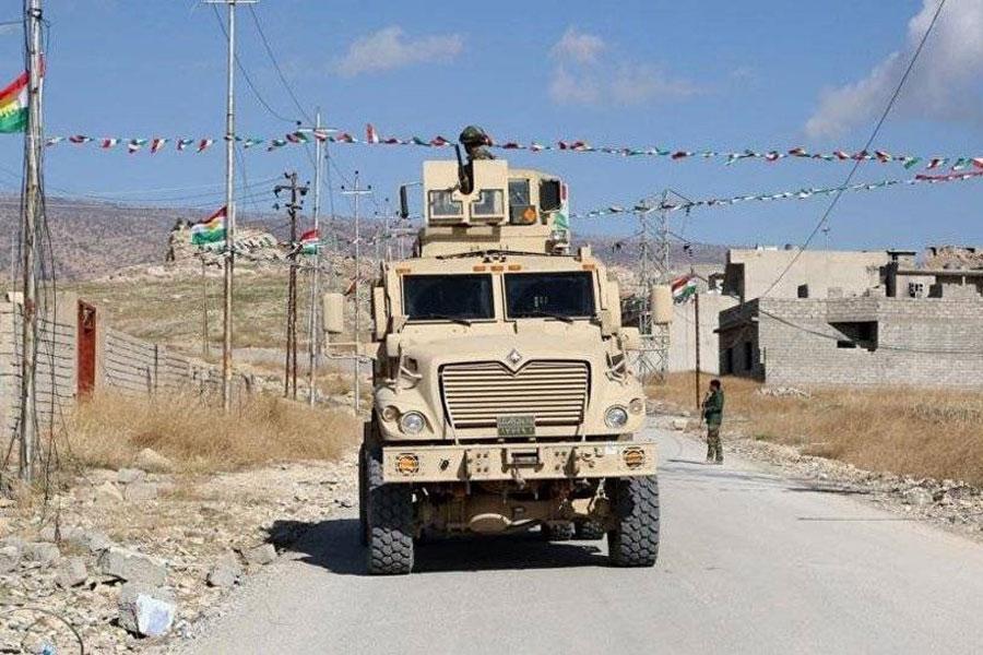 Irak ordusu Şengal'de
