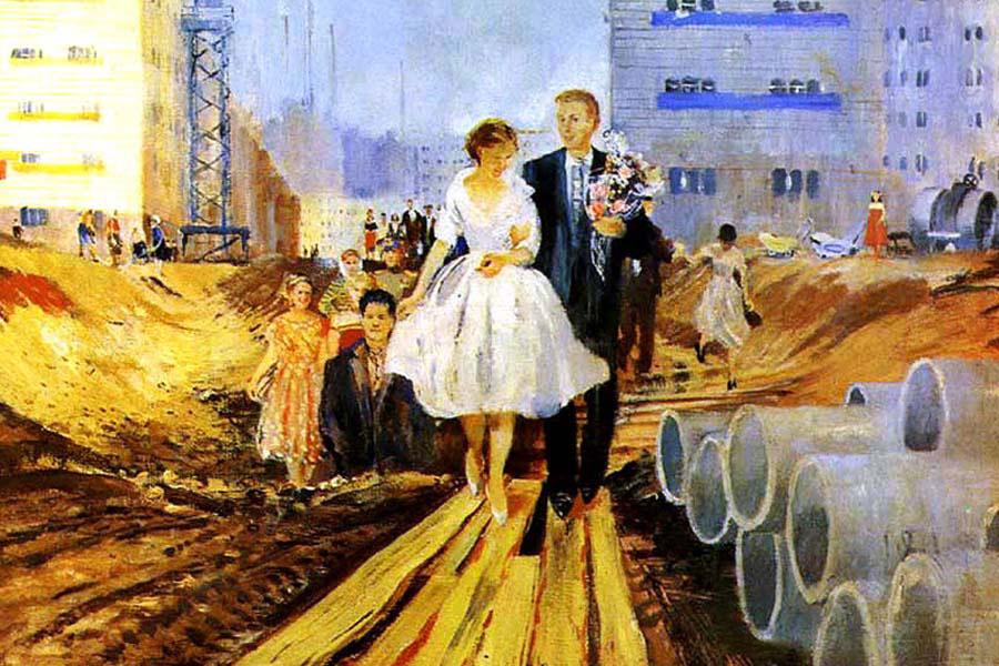 sovyetlerde evlilik