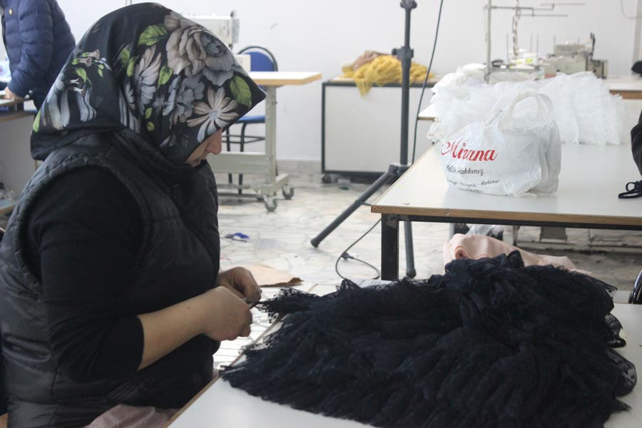tekstil işçisi