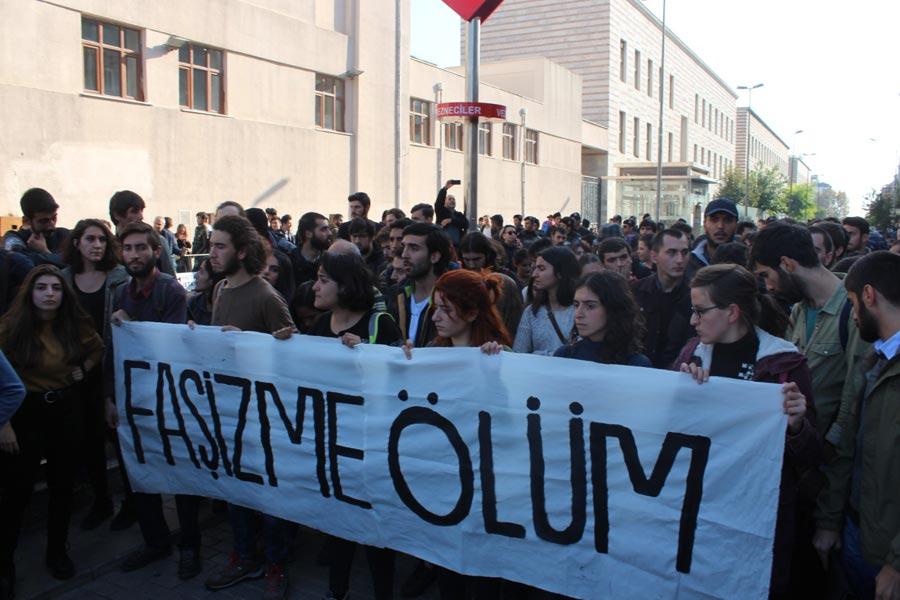 YÖK Protestosu (Fotoğraf: Evrensel)