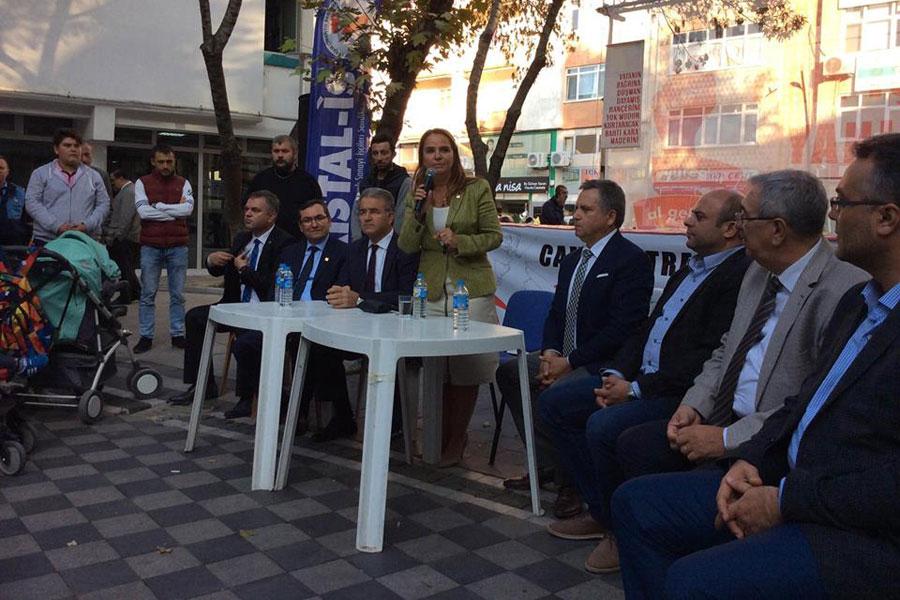 CHP Milletvekili Yasemin Öney Cankurtaran