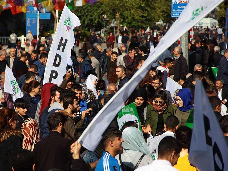 HDP TJA Diyarbakır Mitingi (Fotoğraf: EVRENSEL)