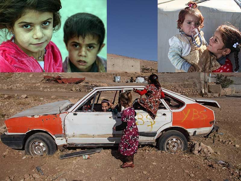 Dünya Çocuk Hakları Günü (Kolajda kullanılan fotoğraflar: Nazım Daştan /MA)