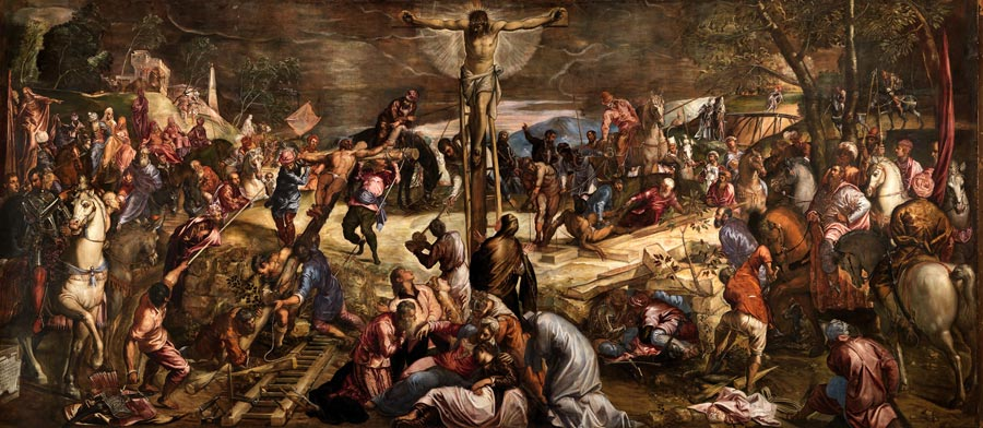 Jacobo Tintoretto - The Crucifixion