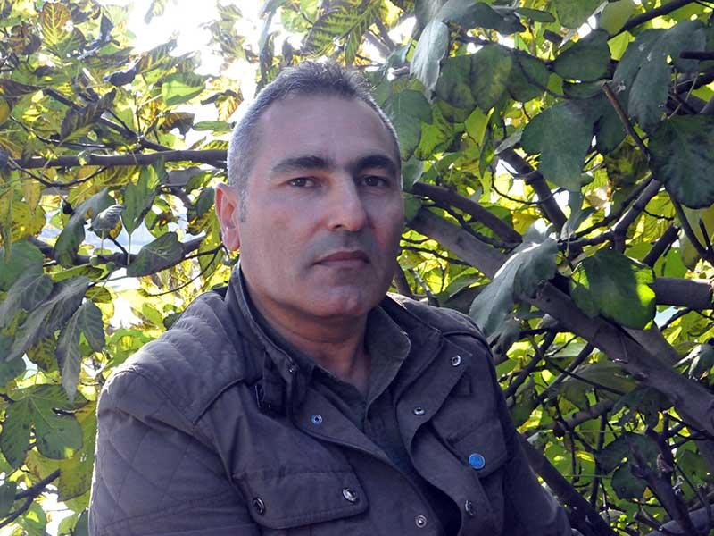 Emekli maden işçisi Mahsuni Ateş (Fotoğraf: Vedat Yalvaç / EVRENSEL)