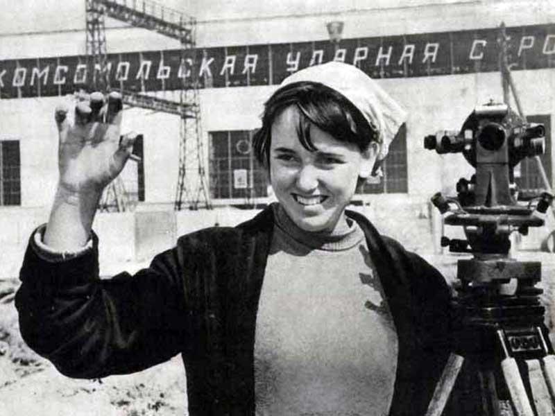 Sovyetler Birliği Kadın İşçi