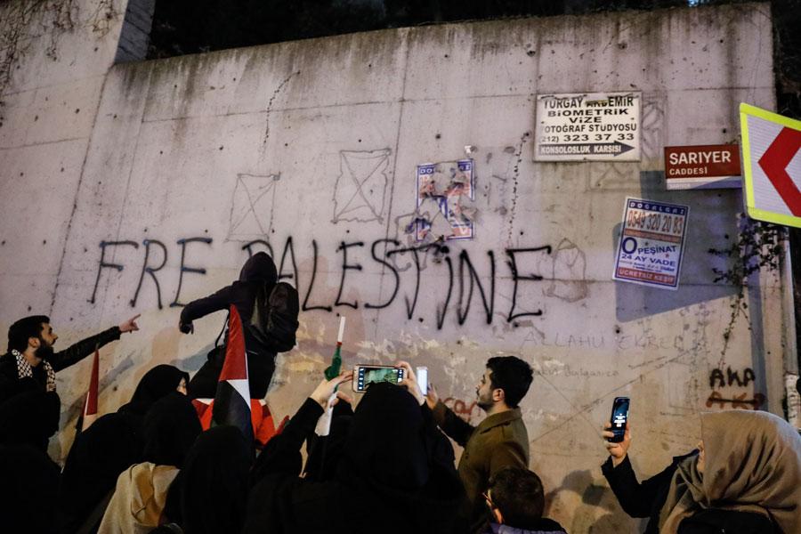 agd kudüs protestosu