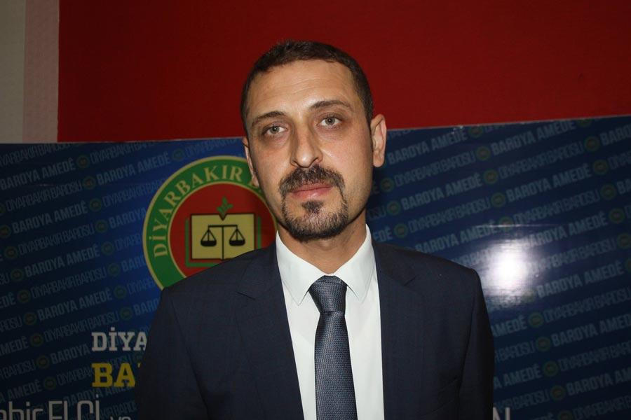 Diyarbakır Barosu Başkanı Ahmet Özmen