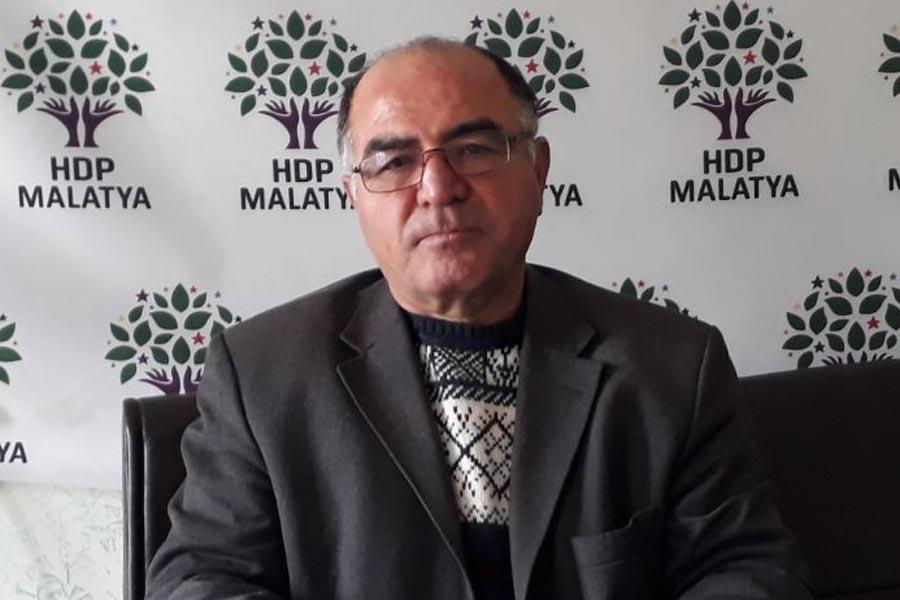 HDP Malatya İl Eş Başkanı Aydın Üstün