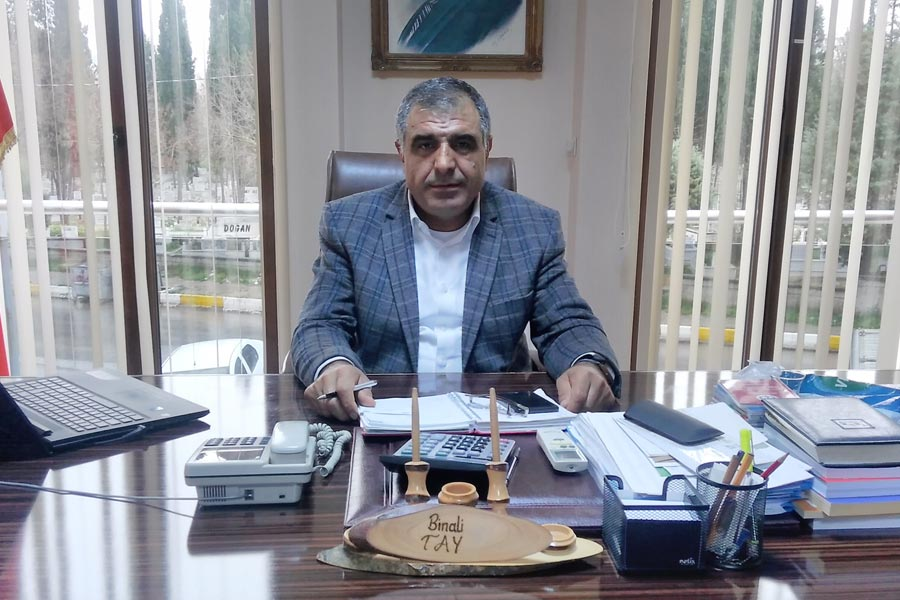 DERİTEKS Tuzla Şube Başkanı Binali Tay