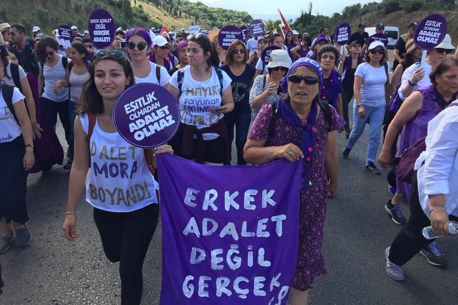 adalet yürüyüşü