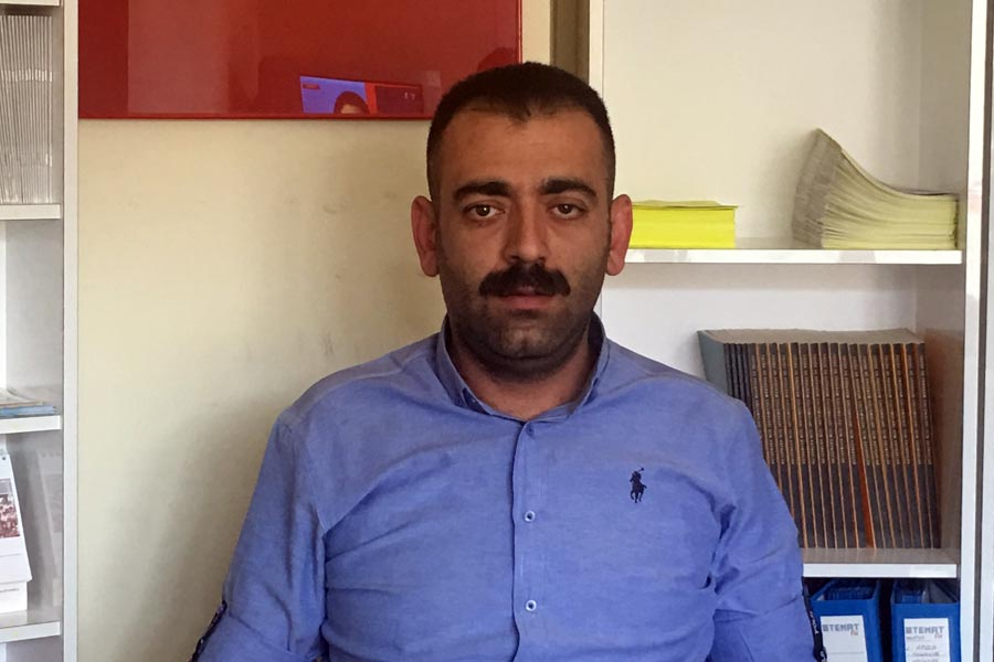 EMEP İl Başkanı Kemal Gültekin