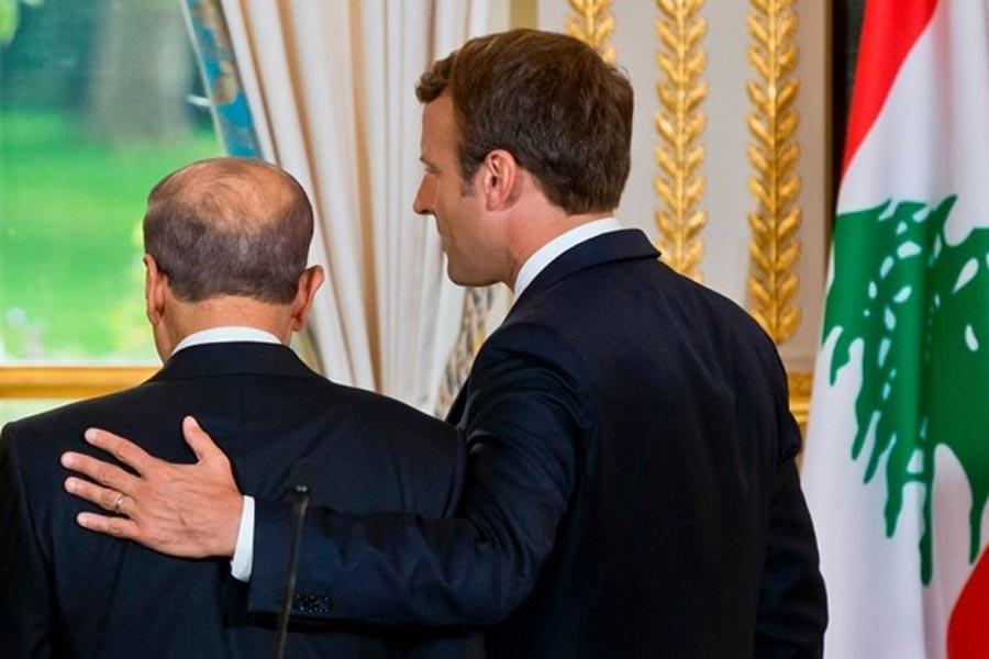 Emmanuel Macron ve Mişel Aun