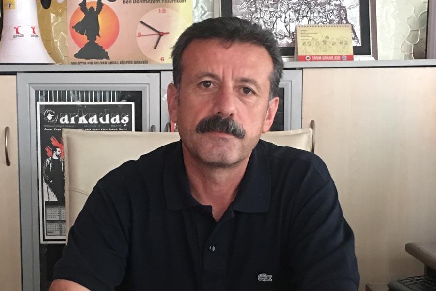 PSAKD Malatya Şube Başkanı Mehmet Topal