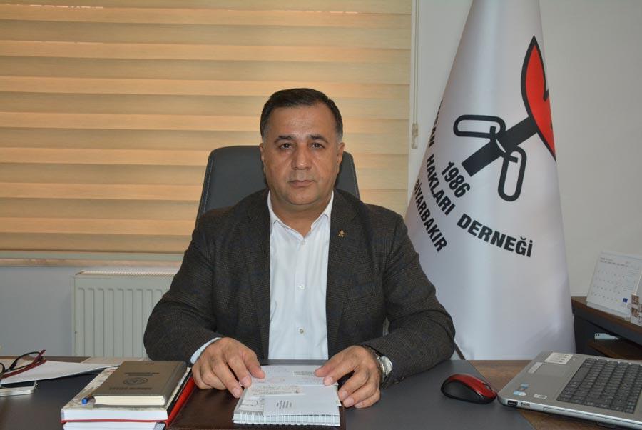İnsan Hakları Derneği (İHD) Diyarbakır Şube Başkanı Raci Bilici