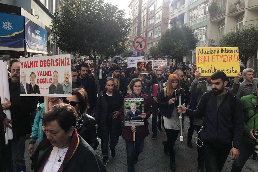 kadıköy 'sözümüz var' eylemi