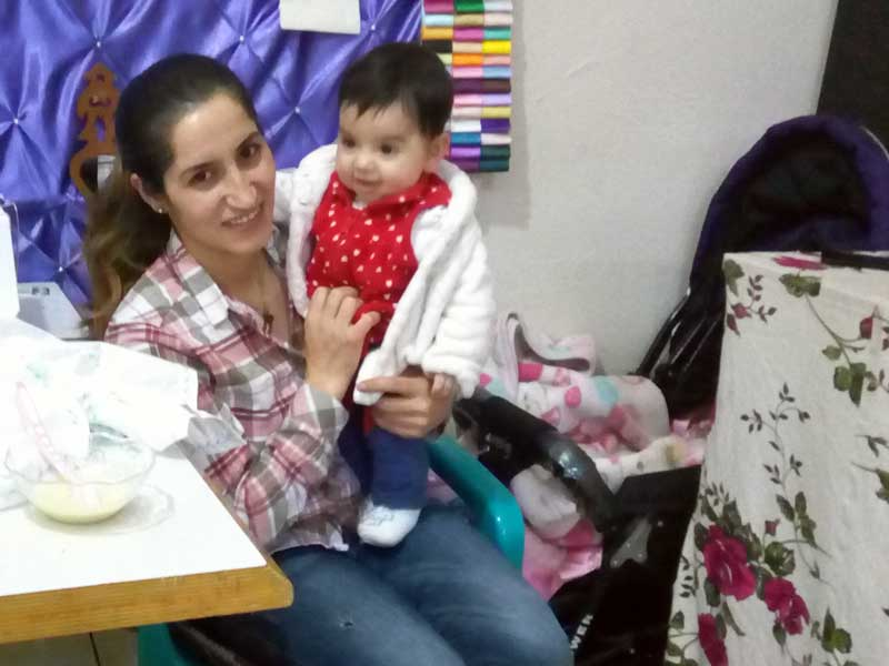 Hatice Muhan Fendik ve Lavin bebek