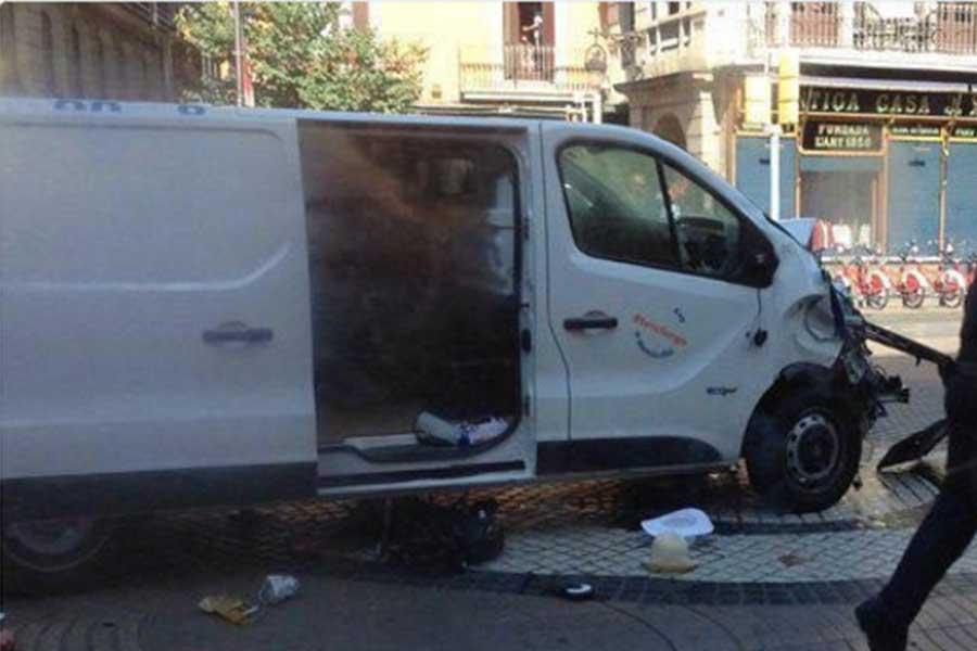 Saldırının gerçekleştirildiği minibüs