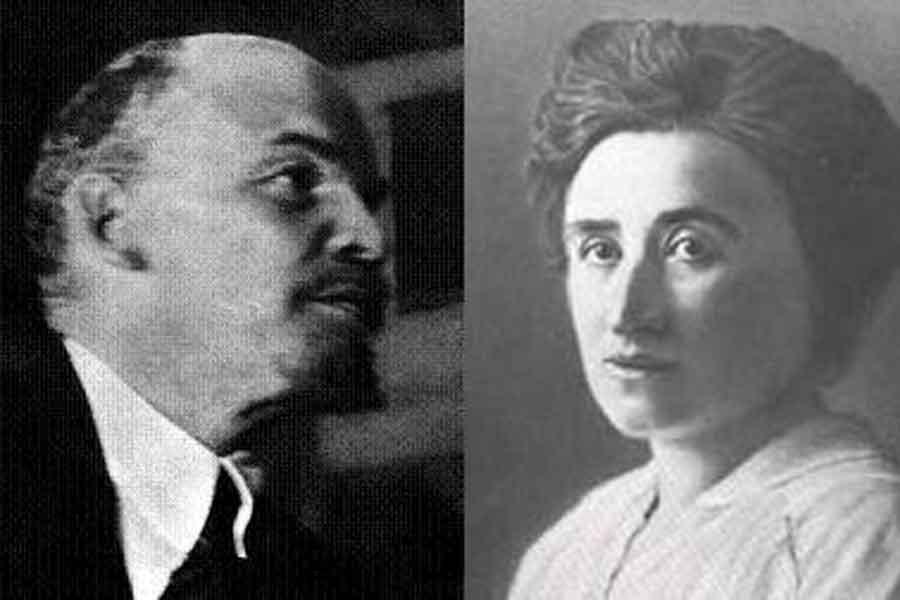 Lenin ve Rosa Luxemburg
