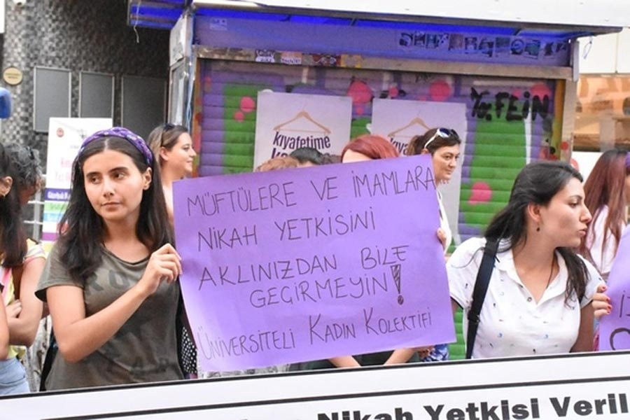 Women protests in Turkey